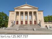 Poznan Stanisіaw Moniuszko Great Theatre (Opera) building, Poland. Стоковое фото, агентство BE&W Photo / Фотобанк Лори
