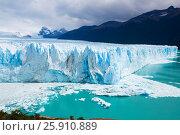 Купить «Glacier Perito Moreno, southeast of Argentina», фото № 25910889, снято 2 февраля 2017 г. (c) Яков Филимонов / Фотобанк Лори