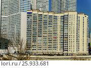 Москва, жилая застройка в районе Чертаново Северное. Стоковое фото, фотограф glokaya_kuzdra / Фотобанк Лори