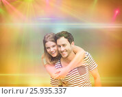 Couple in the disco. Стоковое фото, агентство Wavebreak Media / Фотобанк Лори