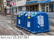 Купить «Контейнеры для раздельного сбора мусора в Германии», эксклюзивное фото № 25937081, снято 21 марта 2017 г. (c) Алексей Шматков / Фотобанк Лори