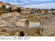 Spain, Tarragona, ancient Roman amphitheater (2017 год). Стоковое фото, фотограф Александр Овчинников / Фотобанк Лори