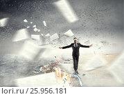 Купить «Overcome fear of failure . Mixed media . Mixed media», фото № 25956181, снято 4 марта 2011 г. (c) Sergey Nivens / Фотобанк Лори