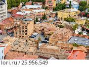 Купить «View of Abanotubani district in the Old Town of Tbilisi. Georgia», фото № 25956549, снято 24 сентября 2016 г. (c) Elena Odareeva / Фотобанк Лори