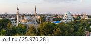 Panoramic view of the historical center. Стоковое фото, фотограф Mikhail Starodubov / Фотобанк Лори