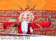 Купить «Масленица в России. Большая кукла для сжигания на традиционном карнавале», фото № 26002141, снято 7 июня 2020 г. (c) FotograFF / Фотобанк Лори