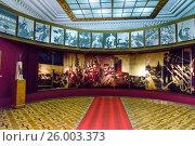 Купить «Museum of Joseph Stalin in Gori. Georgia», фото № 26003373, снято 28 сентября 2016 г. (c) Elena Odareeva / Фотобанк Лори
