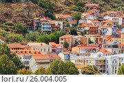 Купить «Old city in Tbilisi, Georgia», фото № 26004005, снято 24 сентября 2016 г. (c) Elena Odareeva / Фотобанк Лори