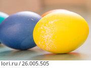 Купить «Easter eggs», фото № 26005505, снято 15 апреля 2017 г. (c) Олег Шеломенцев / Фотобанк Лори