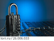 The concept of an encrypted Internet connection, фото № 26006033, снято 17 апреля 2017 г. (c) Александр Якимов / Фотобанк Лори