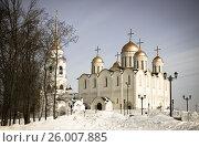 Купить «Dormition Cathedral in Vladimir», фото № 26007885, снято 11 марта 2012 г. (c) Яков Филимонов / Фотобанк Лори