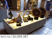Экспонаты. Собор Святой Софии. Редакционное фото, фотограф Dan / Фотобанк Лори