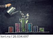 Купить «Invest your money to get income . Mixed media . Mixed media», фото № 26034697, снято 20 октября 2015 г. (c) Sergey Nivens / Фотобанк Лори