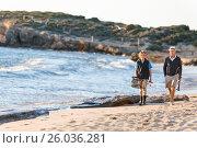 Купить «Senior man fishing with his grandson», фото № 26036281, снято 15 апреля 2015 г. (c) Sergey Nivens / Фотобанк Лори