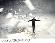 Купить «Overcome fear of failure . Mixed media . Mixed media», фото № 26044713, снято 4 марта 2011 г. (c) Sergey Nivens / Фотобанк Лори