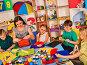 School children with scissors in kids hands cutting paper ., фото № 26058389, снято 25 марта 2017 г. (c) Gennadiy Poznyakov / Фотобанк Лори