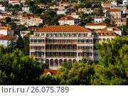 Great Hilton imperial hotel in Dubrovnic, croatia. Стоковое фото, фотограф Андрей Орехов / Фотобанк Лори