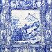Tilework azulejo on outer wall of church in Porto, фото № 26077213, снято 13 мая 2012 г. (c) Роман Сигаев / Фотобанк Лори