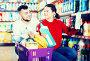 People buying detergents for house, фото № 26096497, снято 14 марта 2017 г. (c) Яков Филимонов / Фотобанк Лори
