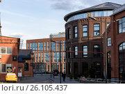 Old ceramic factory building, Russia Moscow Vinzavod. Редакционное фото, фотограф Малахов Алексей / Фотобанк Лори