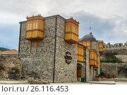 Купить «Hotel Rabath in Rabati Castle in Akhaltsikhe, Georgia», фото № 26116453, снято 29 сентября 2016 г. (c) Elena Odareeva / Фотобанк Лори