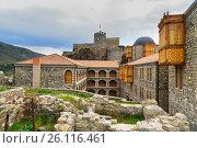 Купить «Hotel Rabath in Rabati Castle in Akhaltsikhe, Georgia», фото № 26116461, снято 29 сентября 2016 г. (c) Elena Odareeva / Фотобанк Лори