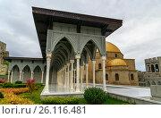 Купить «Rabati Castle in Akhaltsikhe, Georgia», фото № 26116481, снято 29 сентября 2016 г. (c) Elena Odareeva / Фотобанк Лори