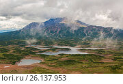 Uzon Caldera in Kronotsky Nature Reserve on Kamchatka Peninsula. Редакционное фото, фотограф Zoonar/yykkaa / easy Fotostock / Фотобанк Лори