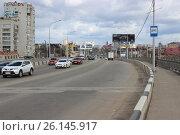 Улица южного города Краснодара (2016 год). Редакционное фото, фотограф Kostin sergey aleksandrovich / Фотобанк Лори