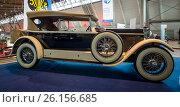 "Купить «STUTTGART, GERMANY - MARCH 02, 2017: Luxury car Mercedes-Benz 24/100/140 PS Fleetwood D / USA, 1924. Europe's greatest classic car exhibition ""RETRO CLASSICS""», фото № 26156685, снято 2 марта 2017 г. (c) Sergey Kohl / Фотобанк Лори"