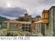 Купить «Hotel Rabath in Rabati Castle in Akhaltsikhe, Georgia», фото № 26158233, снято 29 сентября 2016 г. (c) Elena Odareeva / Фотобанк Лори