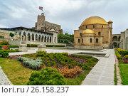 Купить «Rabati Castle in Akhaltsikhe, Georgia», фото № 26158237, снято 29 сентября 2016 г. (c) Elena Odareeva / Фотобанк Лори