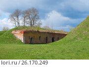 Купить «Брестская крепость. Восточный форт Кобринского укрепления», фото № 26170249, снято 23 апреля 2017 г. (c) Дмитрий Грушин / Фотобанк Лори