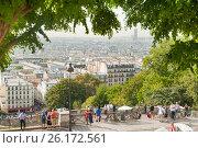 Прекрасный вид на Париж (2016 год). Редакционное фото, фотограф Елена Поминова / Фотобанк Лори
