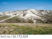 Купить «Донские меловые горы в Донском природном парке», фото № 26172929, снято 29 апреля 2017 г. (c) Матвей Солодовников / Фотобанк Лори