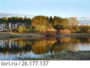 Купить «Тверская область, река Медведица весной», эксклюзивное фото № 26177137, снято 3 мая 2017 г. (c) Dmitry29 / Фотобанк Лори