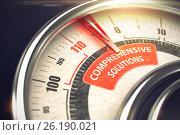 Comprehensive Solutions - Business Mode Concept. 3D. Стоковая иллюстрация, иллюстратор Илья Урядников / Фотобанк Лори
