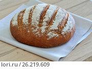 Булка хлеба. Стоковое фото, фотограф Александр Палехов / Фотобанк Лори