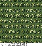 Background of a camouflage. Стоковая иллюстрация, иллюстратор Миронова Анастасия / Фотобанк Лори