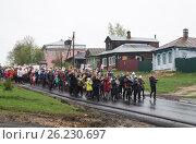 Праздничный парад в честь Дня Победы (2017 год). Редакционное фото, фотограф Сергей Овчинников / Фотобанк Лори