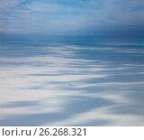 Купить «Winter tundra from above», фото № 26268321, снято 27 марта 2017 г. (c) Владимир Мельников / Фотобанк Лори