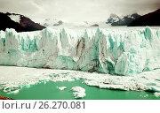 Купить «Glacier Perito Moreno, southeast of Argentina», фото № 26270081, снято 2 февраля 2017 г. (c) Яков Филимонов / Фотобанк Лори