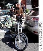 Купить «Canadian actor J. R. Bourne out on his motorbike in Beverly Hills Featuring: J. R. Bourne Where: Los Angeles, California, United States When: 22 Feb 2016 Credit: WENN.com», фото № 26283505, снято 22 февраля 2016 г. (c) age Fotostock / Фотобанк Лори
