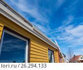 Roof renovation. Стоковое фото, фотограф Souchko Jegor / Фотобанк Лори