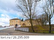 Купить «Белоруссия, Город Гродно. Старый замок.», фото № 26295009, снято 25 февраля 2017 г. (c) Валерий Ситников / Фотобанк Лори