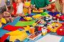 School children with scissors in kids hands cutting paper ., фото № 26295981, снято 25 марта 2017 г. (c) Gennadiy Poznyakov / Фотобанк Лори