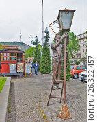 Купить «Памятник Лампионщику (Фонарщику). Тбилиси. Грузия.», фото № 26322457, снято 4 мая 2017 г. (c) Сергей Афанасьев / Фотобанк Лори