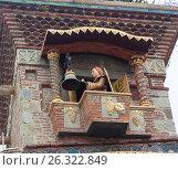 Купить «Ангел на часовой башне. Театр марионеток Резо Габриадзе, Тбилиси, Грузия», фото № 26322849, снято 4 мая 2017 г. (c) Сергей Афанасьев / Фотобанк Лори