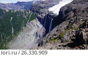 Купить «Volcano Tronador and glaciers of Alerce and Castano Overa», видеоролик № 26330909, снято 9 марта 2017 г. (c) Яков Филимонов / Фотобанк Лори