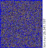 Abstract  graphical composition with the use of buttons. Стоковая иллюстрация, иллюстратор vladimir vershvovski (Владимир Вершвовский) / Фотобанк Лори